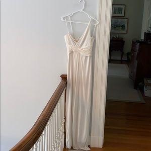 BCBGMaxAzria Greek Goddess One Strap Dress